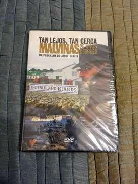 """DVD """"Malvinas: tan lejos, tan cerca, 25 años después"""" de Jorge Lanata. Nuevo"""