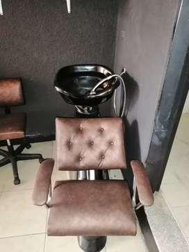 Vendo o permuto muebles de barbería