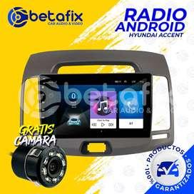 RADIO DE AUTO ANDROID HYUNDAI ACCENT GPS BT USB WIFI BETAFIX DESDE