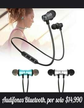 Audifonos Bluetooth Magnetizados