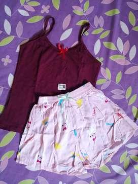 Pijama en una tela super suave y