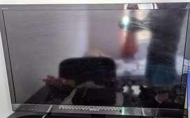 Soni brava Smart tv 43 pulgadas, tarjeta de color dañada