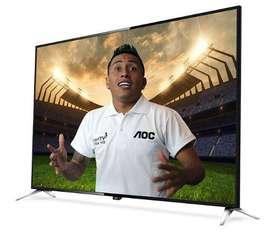 "TV led AOC ultra hd 4k smart 65"" le65u7970"