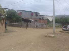 Se vende terreno esquinero negociable
