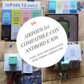 Airpods I12 de colores