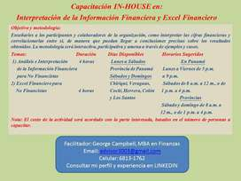 CAPACITACIÓN IN-HOUSE PARA NO FINANCISTAS
