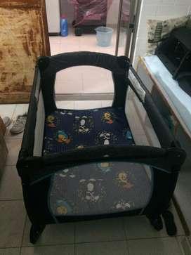 Corral de bebe plegable +colchoneta