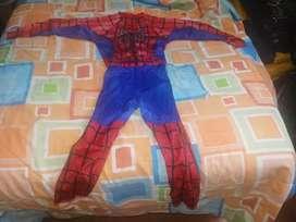 Spiderman disfraz niño