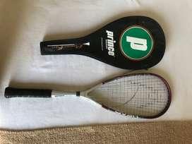 Raqueta Squash Head + Funda Prince.