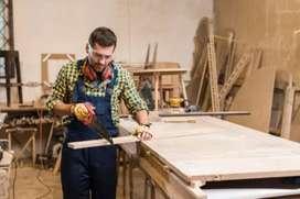 Busco ebanista  o carpintero titulado para proyecto en formación