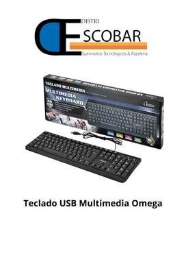 Teclado Multimedia Omega