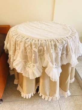 Mantel para Mesa Coqueta