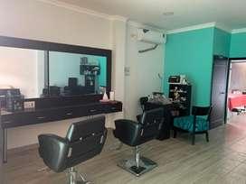 Salon de belleza a extrenar