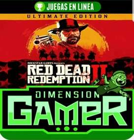 RED DEAD REDEMPTION 2 VERSIÓN ULTIMATE - ONLINE/OFFLINE