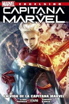 La Vida De La Capitana Marvel : Comic