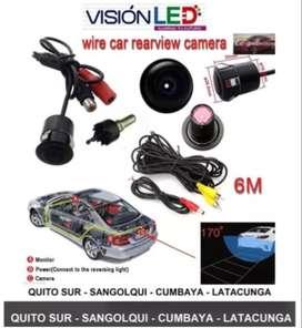 Camara De Retro Visión Nocturna Hd Autos - Tuning 12v
