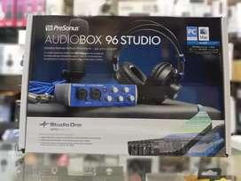 Kit de grabación presonus audiobox 96 studio