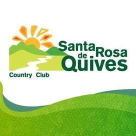 Membresía Vitalicia Tipo A de Santa Rosa de Quives Country Club