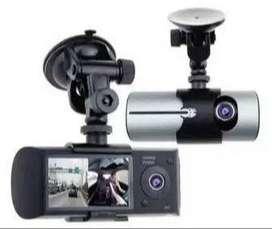 DOBLE CAMARA PARA AUTO HD CON GPS R300