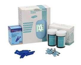 Glucómetro XR803 dual : mg y mmoles