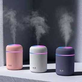 Difusor mini humidificador de aromas aceites