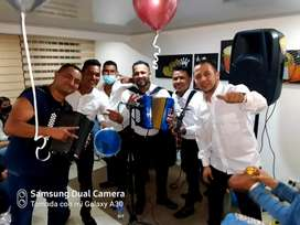 Parranda vallenata grupo tsunami vallenato Bogota