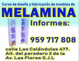 curso de melamina inicio 25 de enero 2020