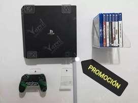 Combo promocion soporte consola PS4  más 2 soportes control  más repisa juegos