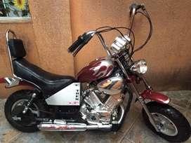 Moto estilo chopper para niños