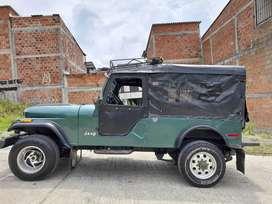 Campero Willys CJ 5