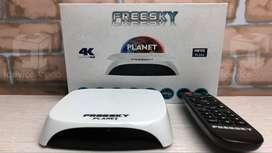 Freesky Planet 4K Tv Streaming Box 2Gb Ram 16Gb Rom
