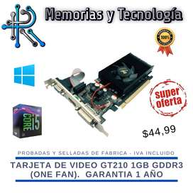 Tarjetas de Video NVIDIA GT730, GT740,, GTX1050TI, GTX1650 y ATI RX580