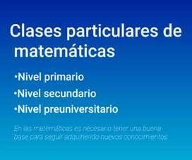 Clases de Apoyo Matemáticas
