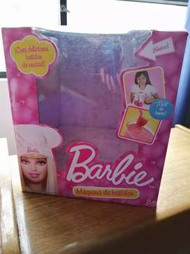 Maquina de malteadas Barbie original