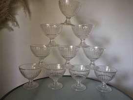 Set de Bowls Compoteras de Plástico x12
