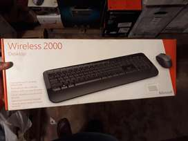 Vendo Teclado-Mouse Wireless Microsoft