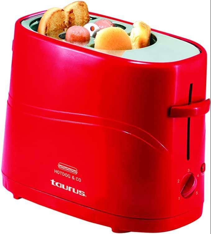 Maquinas para preparar perros calientes , HOT dogs , marca Taurus 0