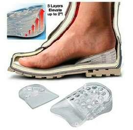 Plantilla silicona zapatos ortopédica aumenta estatura hasta 5cm