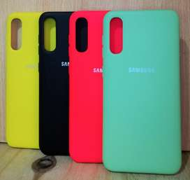 Funda Silky And Soft - Touch Finish Original Samsung A50 Obelisco