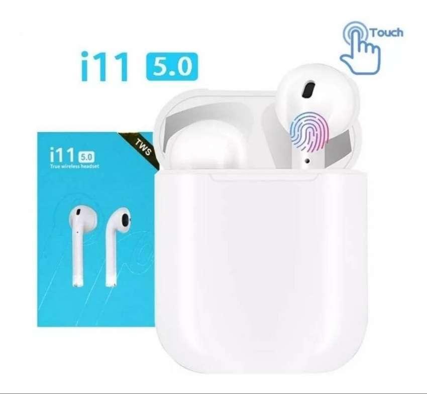 Audífonos i11 Táctil Bluetooth promom promo