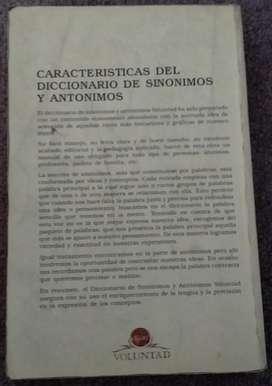 Diccionario Sinónimo Y Anónimos