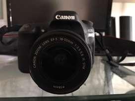 Canon 80D + lente de kit