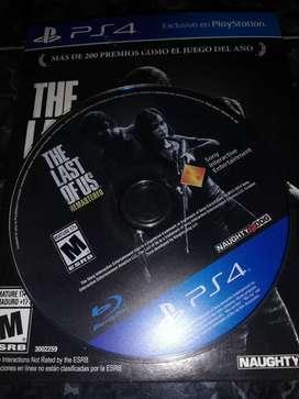 Juego The Last of Us Remastered ps4 usado excelente estado