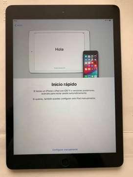 Ipad Air 128 GB WI_FI Gray Como Nuevo Perfecto Estado to Estado