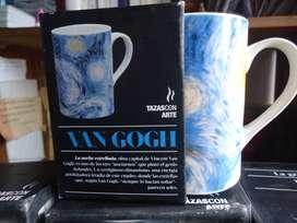 Colección 12 tazas con arte
