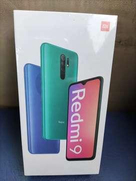 Redmi 9 sellado  en caja tienda