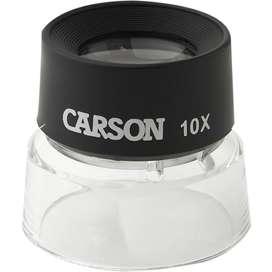 Lupa Carson Ll10 Aumento 10x Dactiloscopia