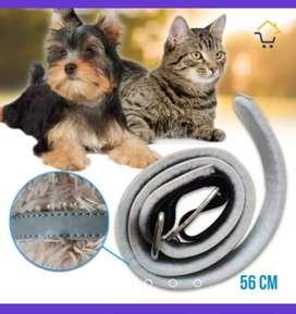 Collar Anti pulgas Parásitos Perro Gatos 56cm Extracto de Margosa RF 645
