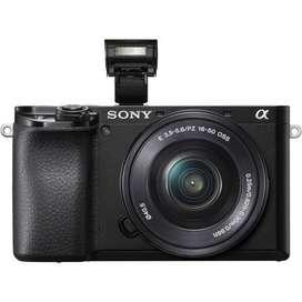 Sony a6100 + Lente 16-50mm