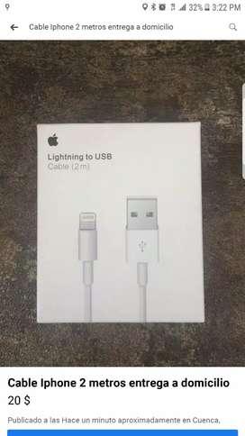 Cable para IPhone 2 metros entrega a domicilio
